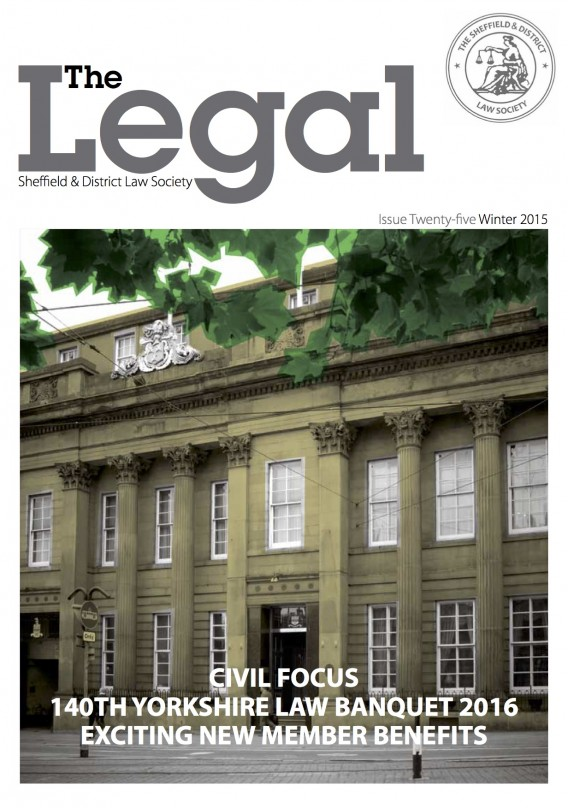 The Legal, Issue 25 — Winter 2015/16