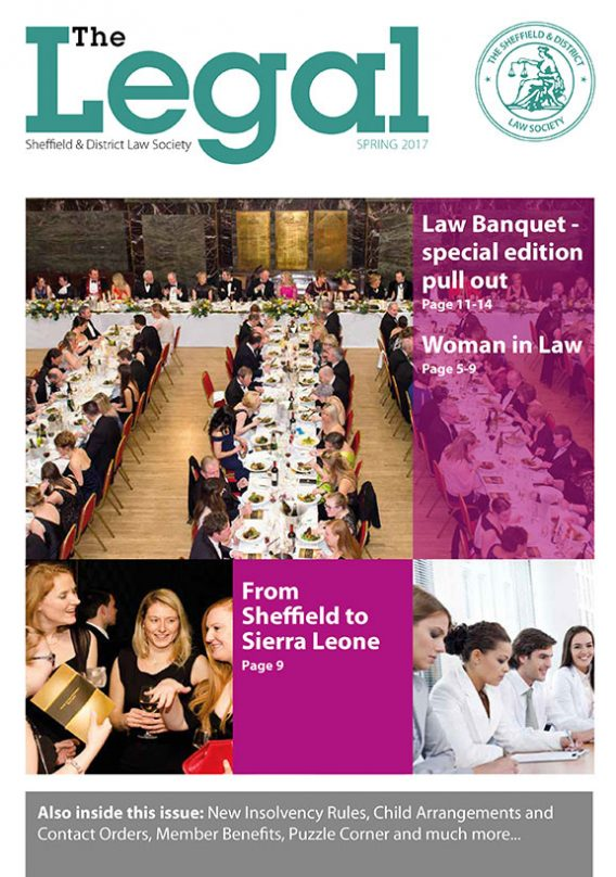 The Legal Issue 30 – Spring 2017