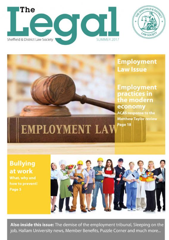 The Legal Issue 31 – Summer 2017