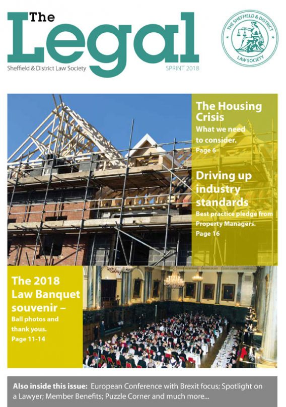 The Legal Issue 34 – Spring 2018